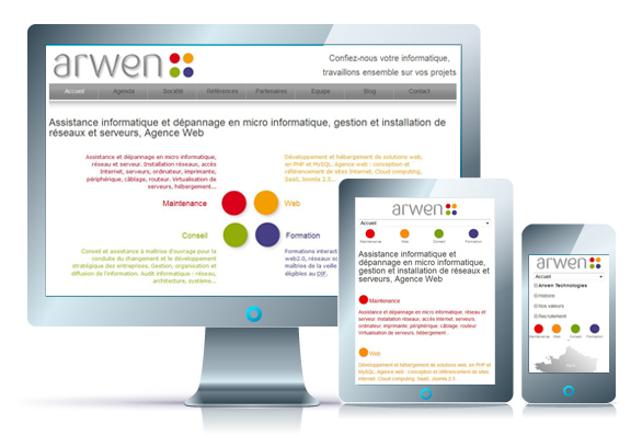 arwen tech site internet mobile