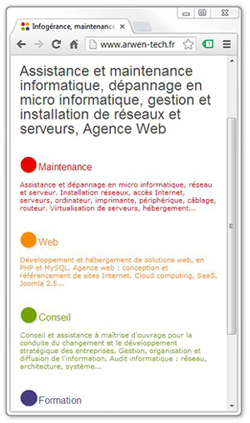 site internet joomla design fluide mobile1