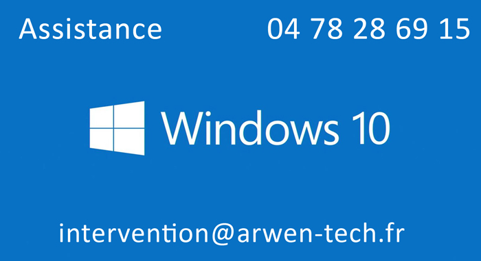 Assistance Windows 10