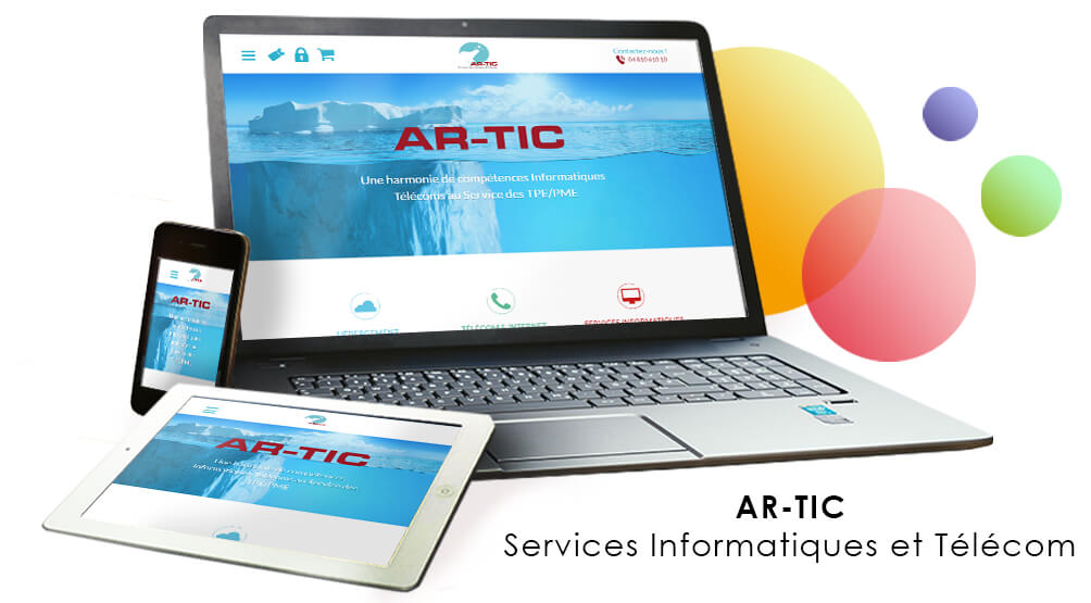 AR-TIC, un site en WordPress
