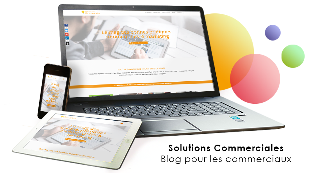 Le magazine des solutions commerciales