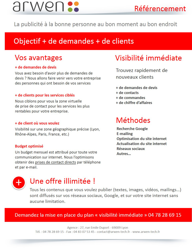 offre referencement google illimite site internet v1